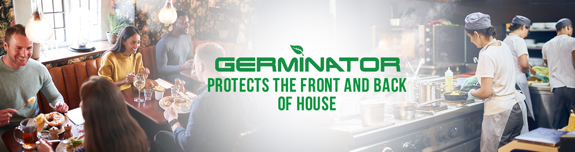 Germinator's Restaurant Sanitizing and Disinfecting Service Will Help Ensure Peace of Mind